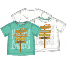 T-shirt beach ecru