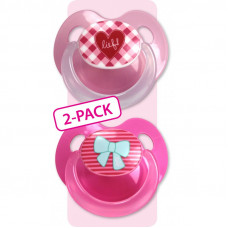Lief! Spenen Girl 2-pack