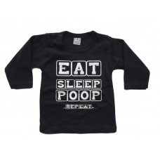 T-shirt eat sleep poop repeat